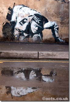 banksy_copper_reflection