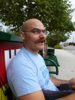 This is Aaron and his magnificent moustache