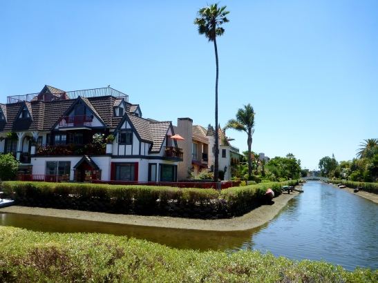 The Venice Beach canals. That amazing house there retails for only a bit over $2M.